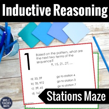 Inductive Reasoning Stations Maze Activity