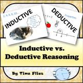 Inductive vs. Deductive Reasoning in Geometry