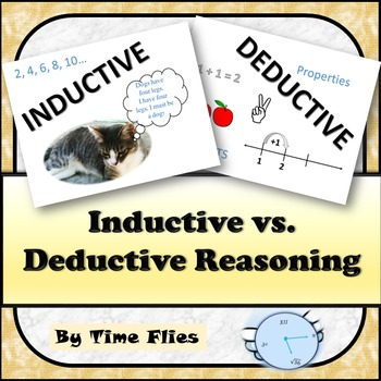 Inductive vs. Deductive Reasoning in Geometry