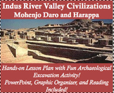 Indus River Valley Civilization Lesson Plan - Mohenjo Daro and Harappa