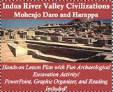 Indus River Valley Civilization Lesson Plan - Mohenjo Daro and Harappa