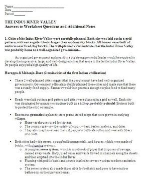 Indus River Valley Cities - Harappa & Mohenjo-Daro