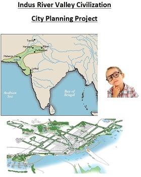 Indus River Valley Civilization City Planning Activity
