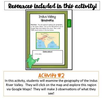 Indus River Valley Civilization Flip Book {Digital}