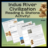 Indus River Valley Civilization Quick Read: One Page Reading with Questions