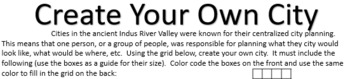 Indus River Valley - Create Your Own City [No Prep]