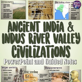 Indus River Valley and Ancient India's Civilizations PowerPoint