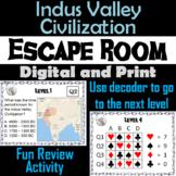 Indus Valley Civilization: Escape Room - Social Studies