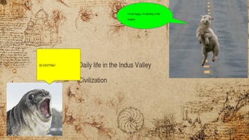 Indus Valley Daily Life Power Point