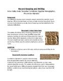 Indus Valley Seals Sumerian Cuneiform Egyptian Hieroglyphics Phoenician Alphabet