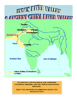 Indus Valley and Ancient China River Valleys
