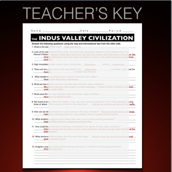 indus river valley worksheets the best and most comprehensive worksheets. Black Bedroom Furniture Sets. Home Design Ideas