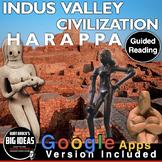 Indus Valley/Harappa Civilization Informational Text Worksheet