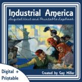 Industrial Revolution Digital Unit + Printable Lapbook   Distance Learning