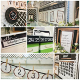 Industrial Chic Farmhouse Style Classroom Decor Full Collection
