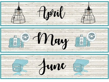 Industrial Vintage Classroom Theme Pack  (Industrial Farmhouse/Rustic)