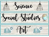 Industrial Vintage Classroom Theme Pack  (Industrial Farmh