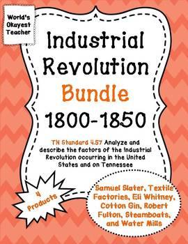 Industrial Revolution 1800-1850 Bundle