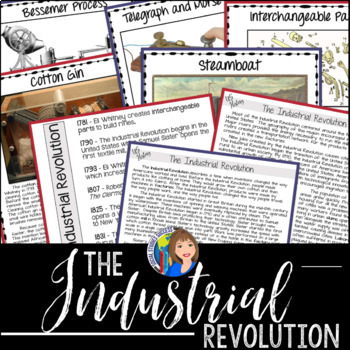 Industrial Revolution Primary Sources and Gallery Walk