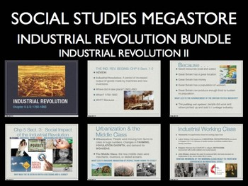 Industrial Revolution Mini Bundle World History