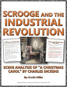 Industrial Revolution - A Christmas Carol (Scene Analysis) Questions and Key