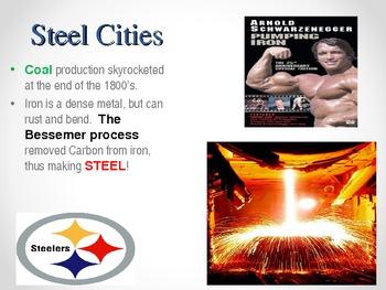 Industrial Revolution Activities and Powerpoint