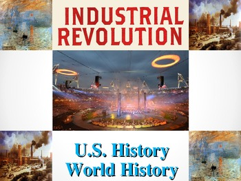 Industrial Revolution Activities and Powerpoint