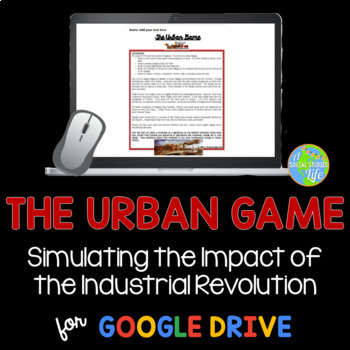 Industrial Revolution Activity: Urban Game