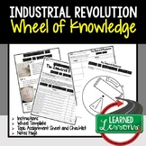 Industrial Revolution Activity, Wheel of Knowledge (Interactive Notebook)