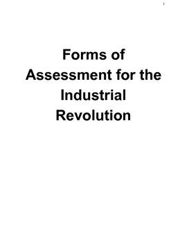 Industrial Revolution Assessments