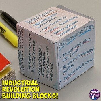 Industrial Revolution Building Block Lesson & Presentation