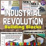 Industrial Revolution Building Block Lesson