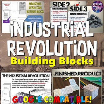 Industrial Revolution Building Block Lesson & Presentation