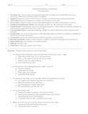 Industrial Revolution Bundle (Vocabulary Strategies)