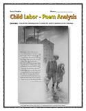 Industrial Revolution Child Labor - Source (Poem) Analysis