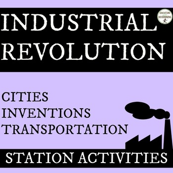 Industrial Revolution Station Activities Set #2