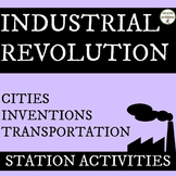 Industrial Revolution Station Activities Set #2