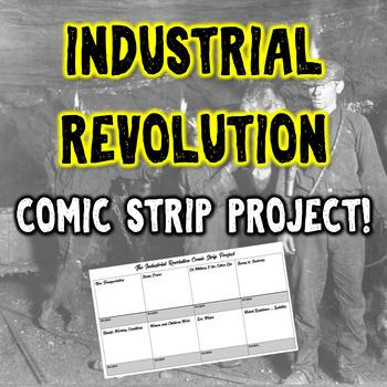 Industrial Revolution Comic Strip Project