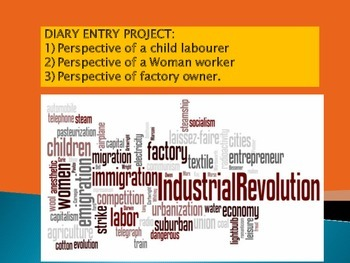 diary of a child in the industrial revolution