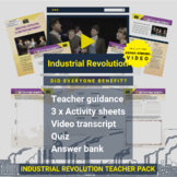 Industrial Revolution Did Everyone Benefit? Activity Pack