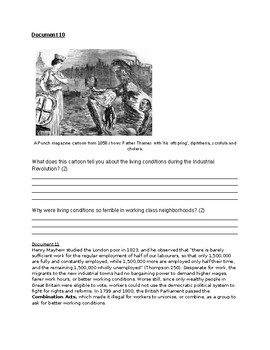 Industrial Revolution Document based questions