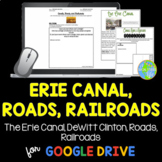 Industrial Revolution - Erie Canal, Roads, Railroads