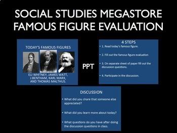 Industrial Revolution Famous Figure Evaluation Part I
