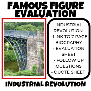 Industrial Revolution Famous Figure Evaluation Part II