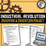 Industrial Revolution Project | Digital | Distance Learning