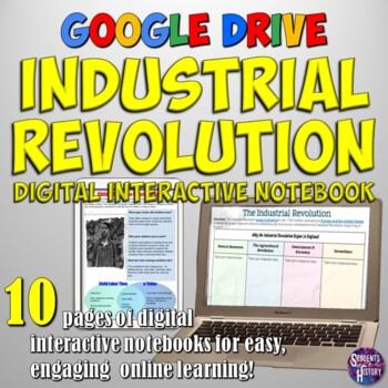 Industrial Revolution Google Drive Interactive Notebook