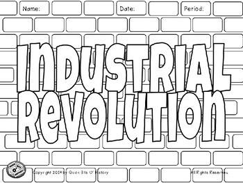 Industrial Revolution Graffiti Board!