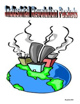 Industrial Revolution: Handouts and Test Review Guides with Answers!