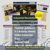 Industrial Revolution (In One Take) Activity Pack and Awar