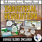 Industrial Revolution Interactive PowerPoint Notes (Google Slides Compatible)